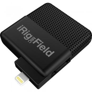 IK Multimedia iRig Mic Field Audio-Video Digital Stereo Field Microphone for iOS