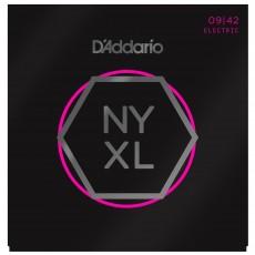 D'addario NYXL0946 Nickel Wound Super Light Top Regular Bottom Electric Strings (.009-.046)
