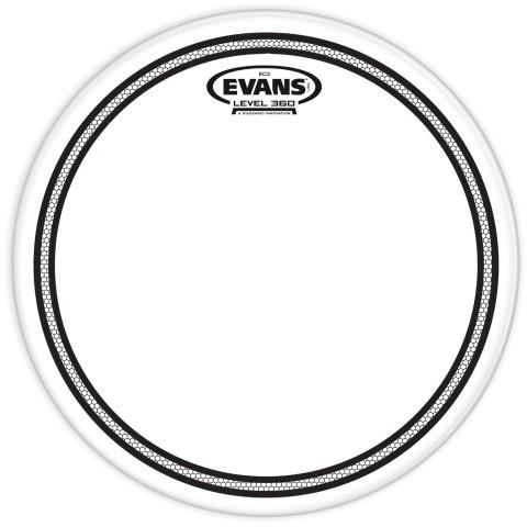 Evans EC2 Clear Drum Head - 10