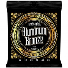 Ernie Ball 2568 Aluminum Bronze Light Acoustic Strings (.011 -.052)