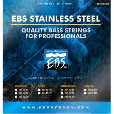 EBS SS-CM4 Stainless Steel Classic Medium Bass Strings (.045-.105)