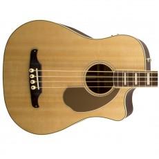 Fender Kingman SCE Semi Acoustic Bass Guitar - Natural (Includes Case)