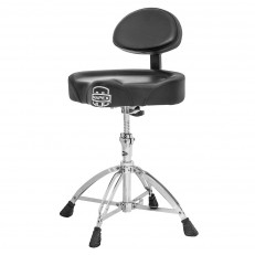 Mapex T775 Saddle Drum Throne Stool Seat with Back Rest