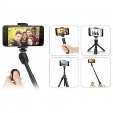 IK Multimedia iKlip Grip Multifunctional Smartphone Stand, Selfie Stick and Tripod with Bluetooth Shutter