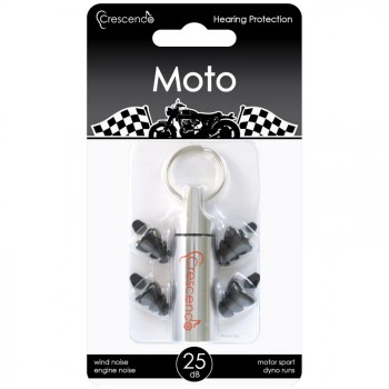 Crescendo Moto Hearing Protection