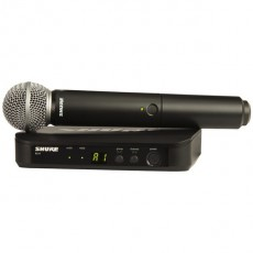 Shure BLX24UK/SM58 Handheld Wireless Microphone System