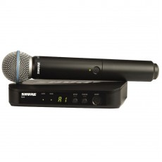 Shure BLX24UK/B58 Beta 58A Handheld Wireless Microphone System