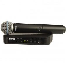 Shure BLX24UK/B58 Beta 58A Handheld Wireless Microphone System
