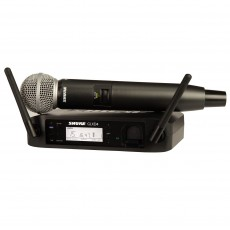 Shure GLXD24UK/SM58 Digital Wireless SM58 Vocal Mic System