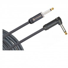 Planet Waves PW-AMSGRA-20 American Stage Instrument Cable, Right Angle, 20 feet