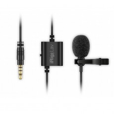 IK Multimedia iRig Mic Lav Lavalier/lapel/clip-on Microphone for Mobile Devices