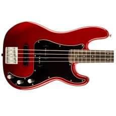 Squier Vintage Modified Precision PJ Bass Rosewood - Candy Apple Red