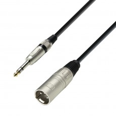 Adam Hall Cable XLR male to 6.3 mm Jack 3m