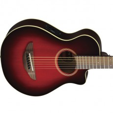 Yamaha APXT2 DRB 3/4 Semi Acoustic - Dark Red Burst (Includes Case)