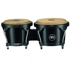Meinl Percussion HB50BK Headliner Series Black ABS Plastic Bongos
