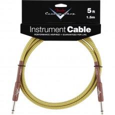 Fender Custom Shop Performance Series Cable, 5', Tweed