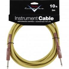 Fender Custom Shop Performance Series Cable - 10' Tweed