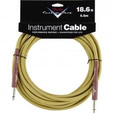 Fender Custom Shop Performance Series Cable - 18.6' Tweed