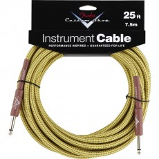Fender Custom Shop Performance Series  Instrument Cable - 25'Tweed