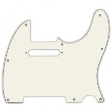 Fender Pickguard, Tele, 8 Hole Mount, 3-Ply, Parchment