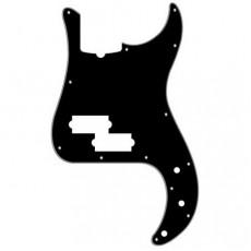 Fender Pickguard, Precision Bass, 13 Hole, B/W/B, 3-Ply, w/ Truss Rod Notch