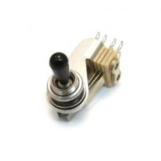 Fender Switch, 3-Way Toggle, J5 Triple Tele, Chrome w/ Black Tip