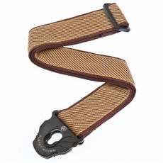 Planet Waves Planet Lock Guitar Strap, Tweed