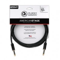 Planet Waves American Stage Instrument Cable - 10' Black