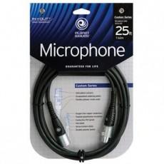 Planet Waves Custom Series XLR  Microphone Cable, 25 feet