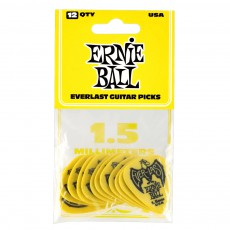 Ernie Ball Everlast 12 Pack Delrin Picks, 1.50mm