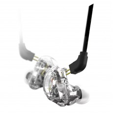 Stagg SPM-235 TR Dual Driver Professional In-Ear Monitors - Transparent