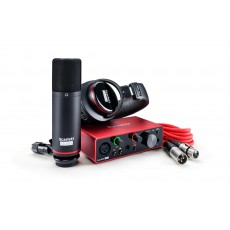 Focusrite Scarlett Solo Studio 3rd-Generation Audio Interface
