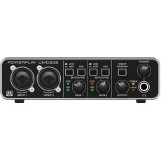 Behringer Audiophile UMC202 USB Audio Interface